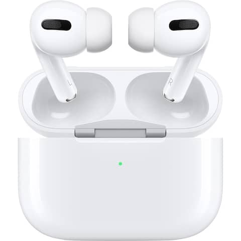 Apple AirPods Pro with Wireless Charging Case, White (New Open Box)