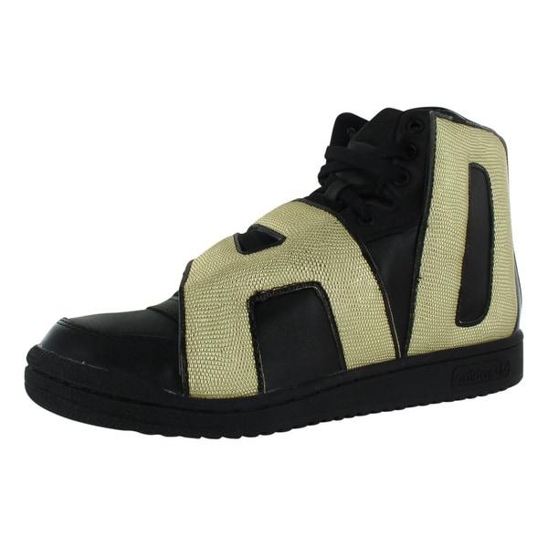 Adidas Jeremy Scott Letters Gold Men's Shoes