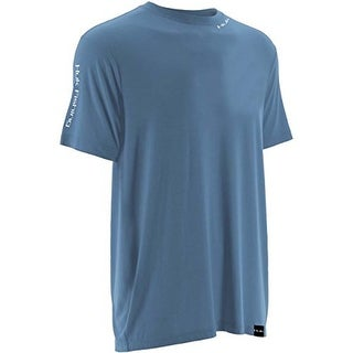 Huk Men's Performance Carolina Blue Medium Fishing LoPro Short Sleeve Shirt