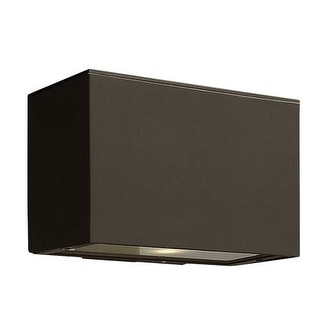 """Hinkley Lighting 1646 6"""" Height 1 Light Dark Sky Outdoor Wall Sconce from the Atlantis Collection"""