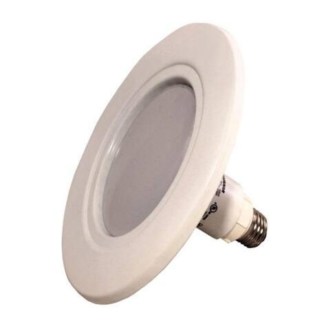 Sylvania 79695 LED Integrated Bulb and Trim, Warm White, 15 Watt, 2700K