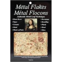 Mona Lisa Metal Leaf Flakes 3g-Variegated Gold