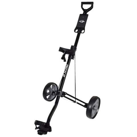 Ray Cook Golf RCX 2 Wheel Pull Cart Black