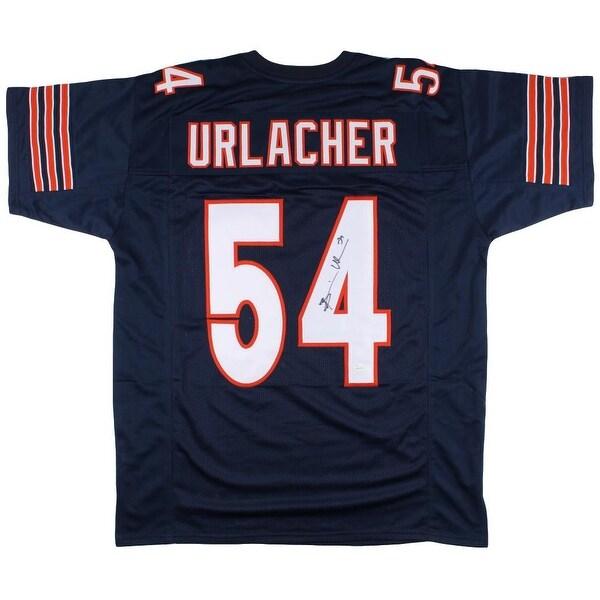 Shop Brian Urlacher Signed Custom Navy Pro-Style Football Jersey JSA ... 35ab69eaa