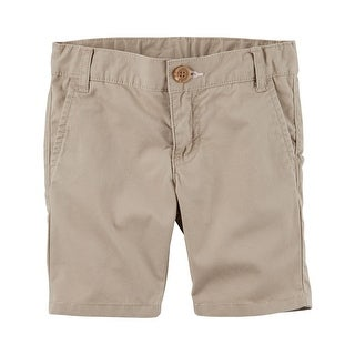 Carter's Little Girls' Twill Uniform Shorts, 6 Kids