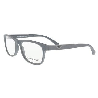 7f80c661246 Shop Emporio Armani EA3082 5211 Grey Rectangle Opticals - Free Shipping  Today - Overstock - 20610276