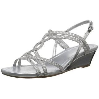 Bandolino Womens Gilnora Open Toe Casual Platform Sandals