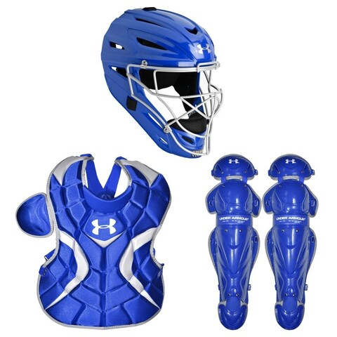 Under Armour Baseball Victory Series Catching Kit (Royal - Medium/Ages 9-12)