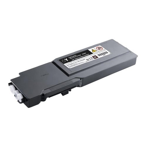 Dell Toner Cartridge KGGK4 Dell Toner Cartridge - Yellow - Laser - High Yield - 5000 Page - 1 / Pack