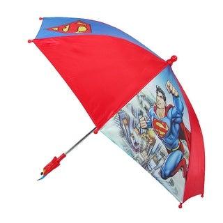DC Comics Kids' Superman Umbrella - superman in chains - One Size