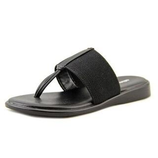 Callisto Pop Open Toe Canvas Thong Sandal