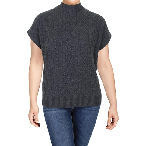 Lauren Ralph Lauren Womens Sweater Vest Wool Blend Wear To Work