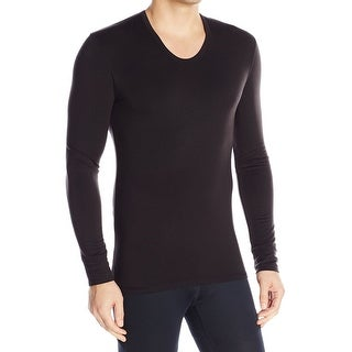 Calvin Klein NEW Solid Black Mens Size Large L Nightshirt Sleepwear