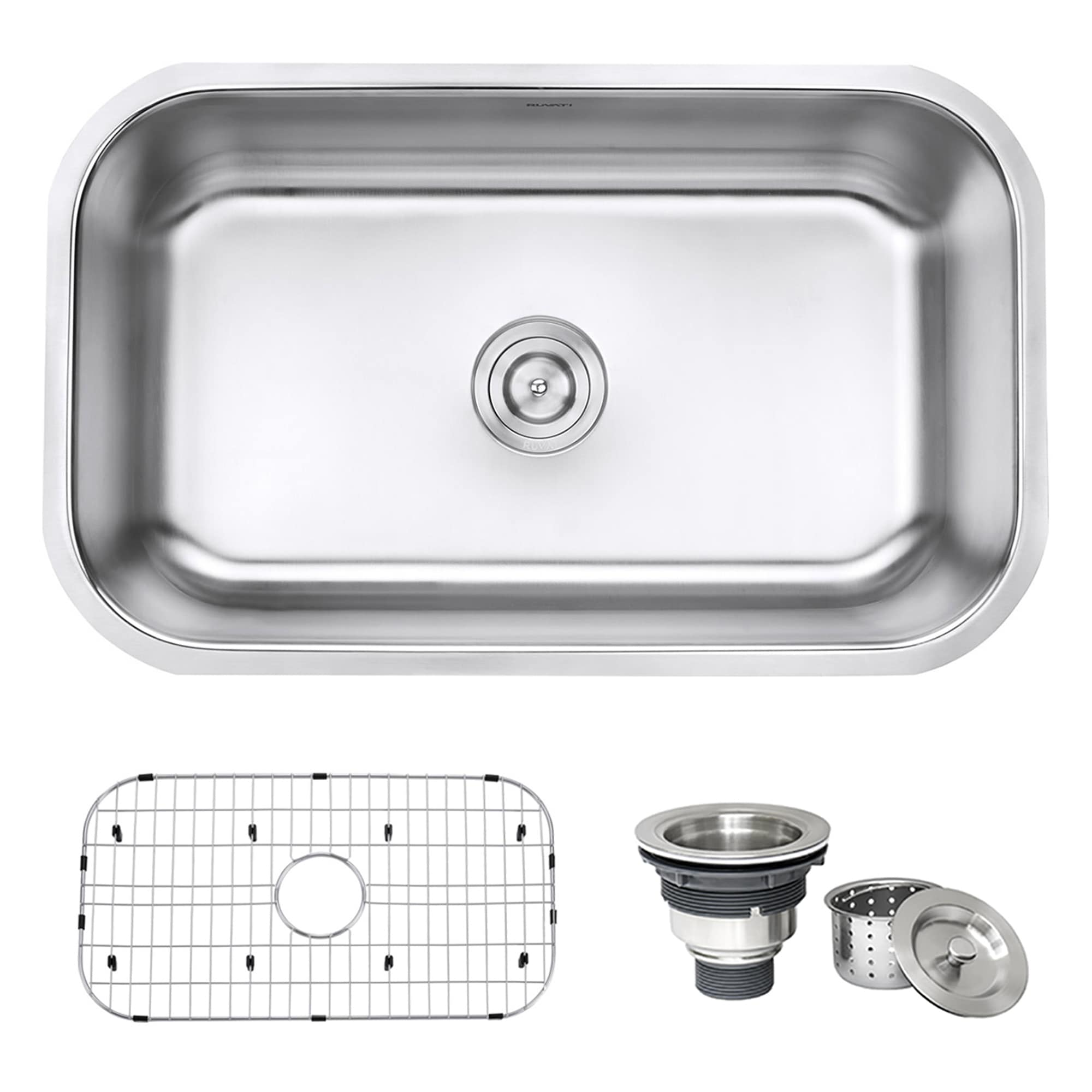 30 in undermount sink