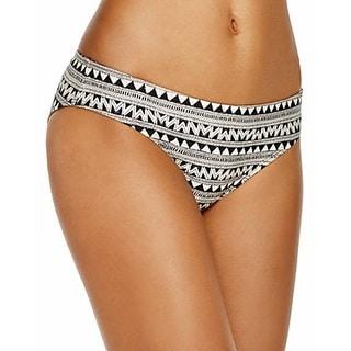 Laundry By Shelli Segal NEW Black Women Size Small S Bikini Bottom Swimwear