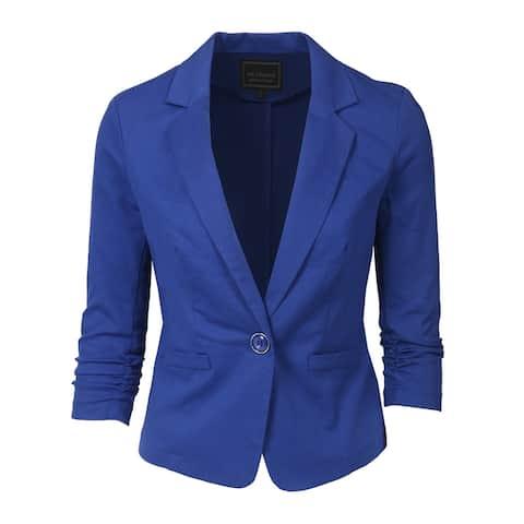 NE PEOPLE Women's 3/4 Sleeve Casual Blazer S-3XL [NEWJ100]