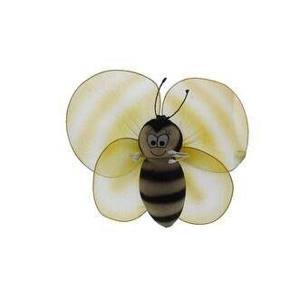 Seasons Direct Mesh Bumblebee Decorative Mobile