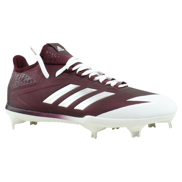 9c37dcacb33 Shop adidas Mens Red Cleats Athletic Shoes Size 7.5 New - On Sale ...
