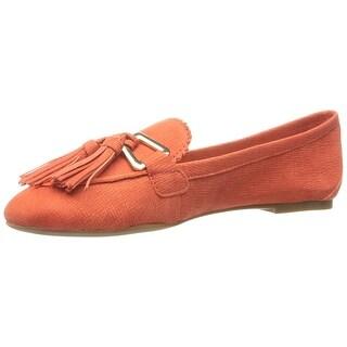Tommy Hilfiger Women's hadrian Moccasin, Orange, Size 7.5
