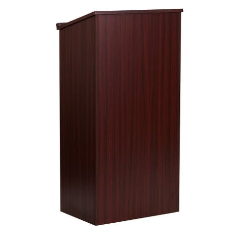 Stand-Up Wood Lectern