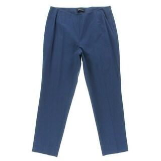 Lafayette 148 Womens Slim Fit Mid-Rise Ankle Pants