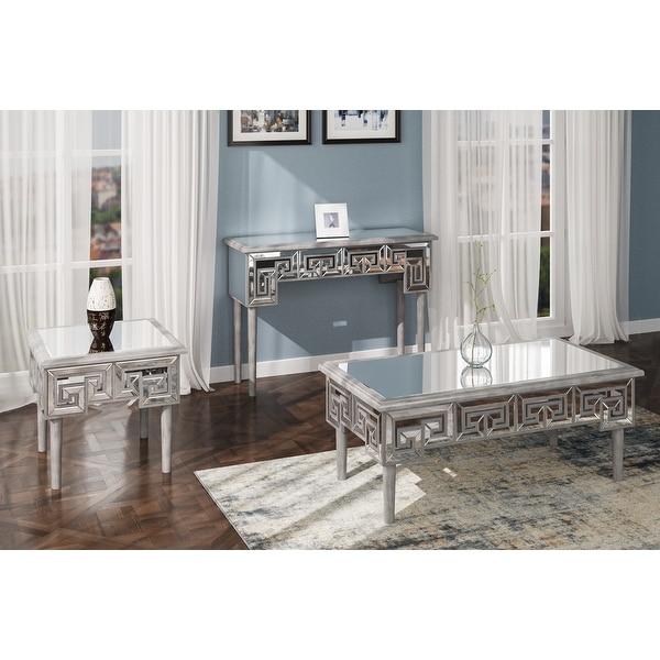 Silver Orchid Adan Modern Coffee Table. Opens flyout.