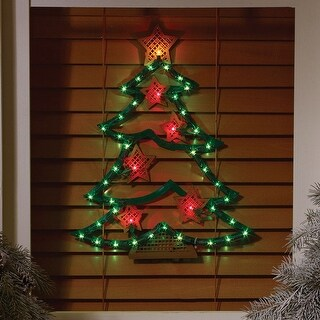 Impact Innovations 95122 Christmas Tree Red/Green Silhouette