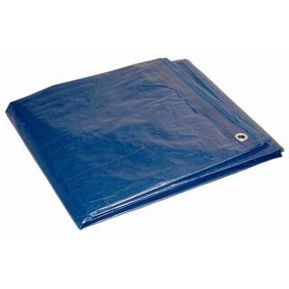 Foremost 81620 Dry Top Blue Economy Tarp, Polyethylene, 16' x 20'