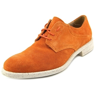 Marc New York By Andrew Marc Carmine Round Toe Suede Oxford