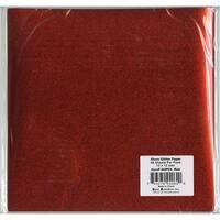 "Best Creation Gloss Glitter Paper 12""X12""-Red"