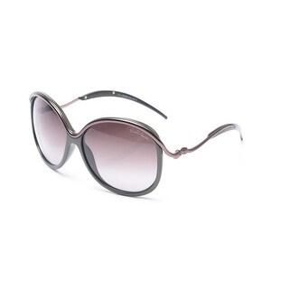 Roberto Cavalli Women's Cedro Sunglasses Olive/Pink - Small