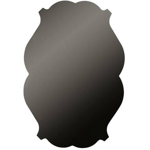 "M-D Hobby & Craft 57360 Vintage Chalkboard Sheet, 16"" x 24"", Black"