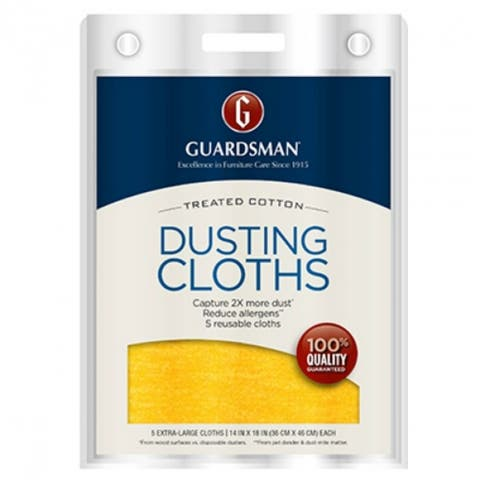 Guardsman 462700 Ultimate Cotton Dusting Cloth, 5-Pack
