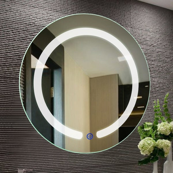Shop Costway 20 Led Mirror Illuminated Light Wall Mount