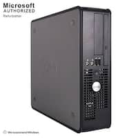 Dell OptiPlex 760 Desktop Computer SFF Intel Core 2 Duo E8400 3.0G 4GB DDR2 160G Windows 10 Home 1 Year Warranty (Refurbished)