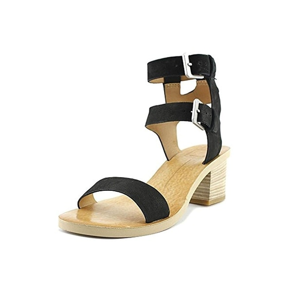 Dolce Vita Womens West Heels Solid Open Toe