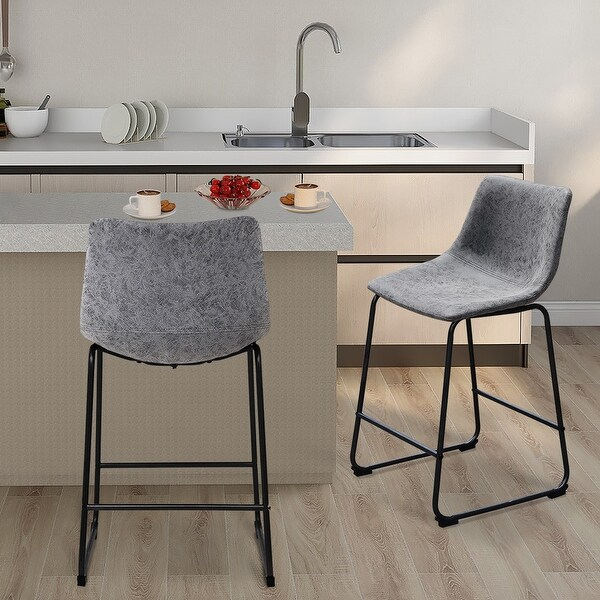 Maypex 24 Inch Counter Stools(set of 2). Opens flyout.