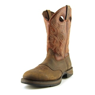 Durango Rebel Men Round Toe Leather Brown Western Boot