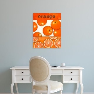Easy Art Prints Norman Wyatt's 'Orange' Premium Canvas Art