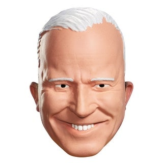 Disguise Joe Biden Vacuform Adult Half Mask - beige