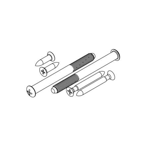 Kwikset 81247 780, 970, 980 and 980S Deadbolt Screw Pack -