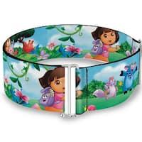 Dora Running & Animal Friends Outdoors Cinch Waist Belt   ONE SIZE