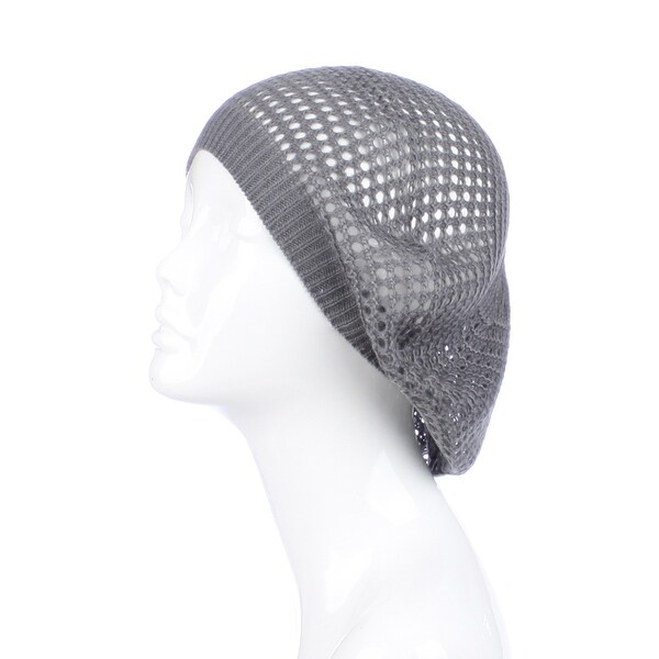 Womens Geometric Beanie Hat
