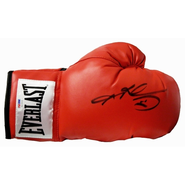753eb1e7d9e Shop Sugar Ray Leonard Everlast Red Boxing Glove - Free Shipping ...