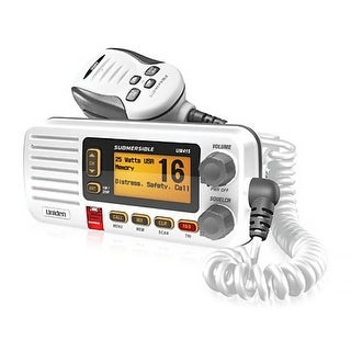 Uniden UM415WH Fixed Mount VHF Marine Radio