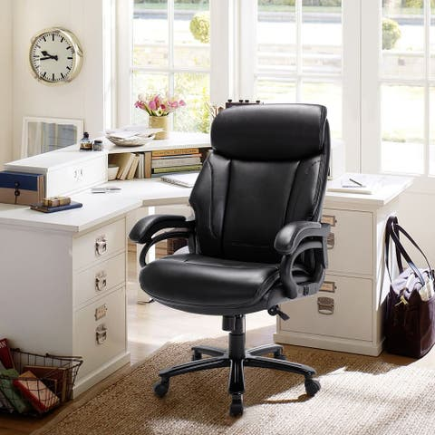 STARSPACE High Back Big & Tall 400lb Ergonomic Executive Office Chair