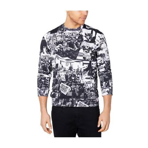 Sean John Mens Protest Sweatshirt jetblack L