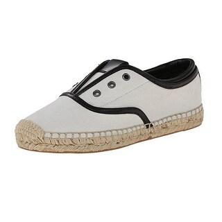 Elie Tahari Mako White Espadrille Shoes