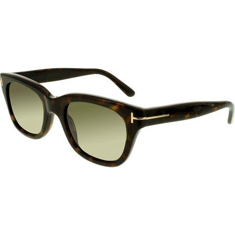2eb9349d21504 Tom Ford Men s Snowdon FT0237-52N-52 Brown Square Sunglasses