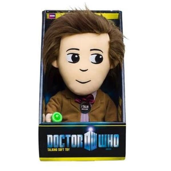 """Doctor Who 11th Doctor 9"""" Talking Plush W/LED Sonic Screwdriver - multi"""